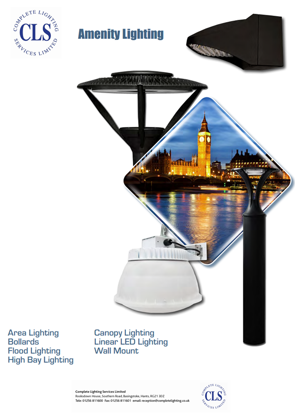 Download our Amenity Lighting Catalogue